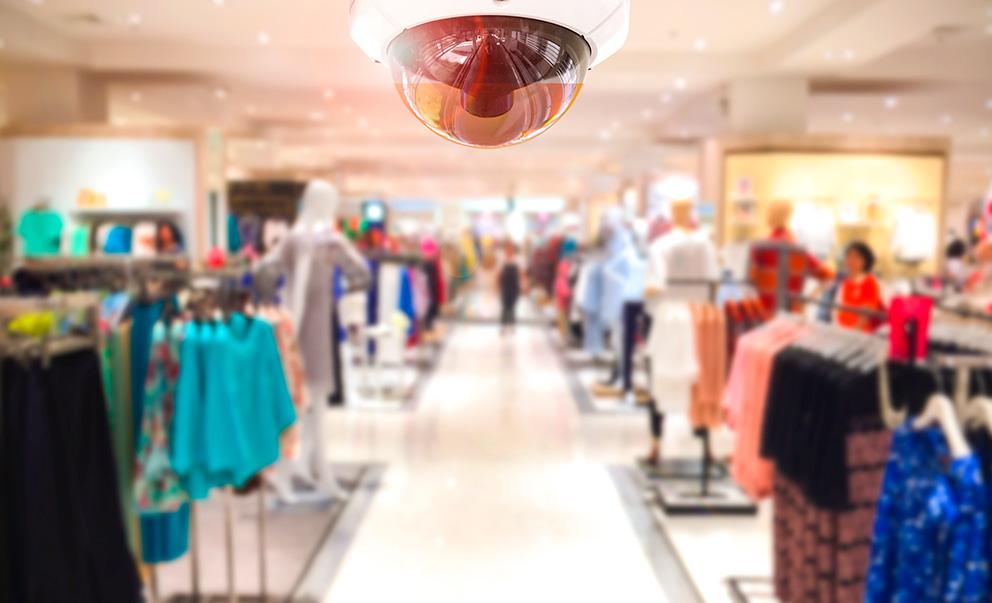 Segurança nos negócios - prevenção de roubos em lojas