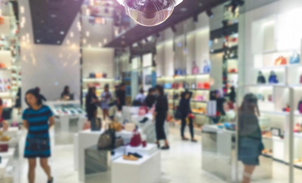Sistemas e soluções de segurança para empresas de varejo